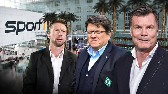 Steffen Freund und Hubertus Hess-Grunewaldsind sind im CHECK24 Doppelpass zu Gast