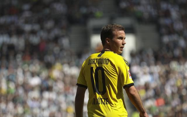 Mario Götze, Jadon Sancho, Borussia Dortmund, BVB
