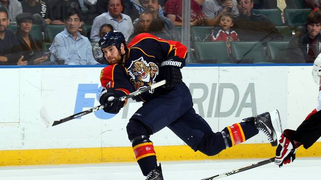 Bill Thomas spielte von 2010 bis 2012 für die Florida Panthers in der NHL