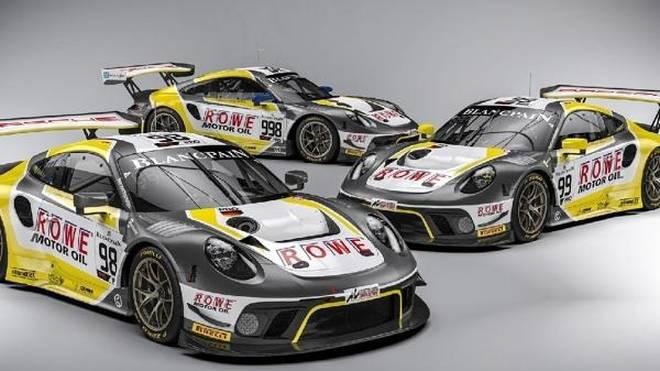 Alleine Rowe wird in Spa-Francorchamps drei Porsche einsetzen