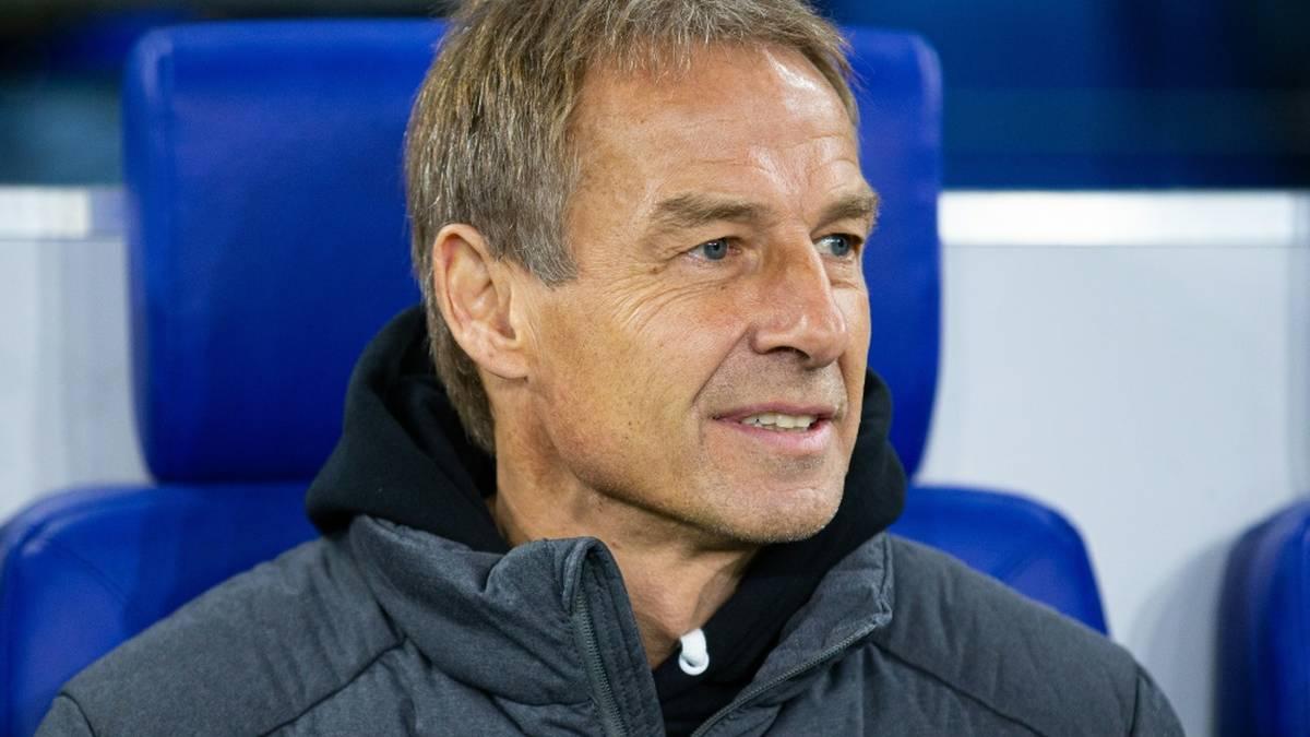 Jürgen Klinsmann vertraut Bundestrainer Hansi Flick