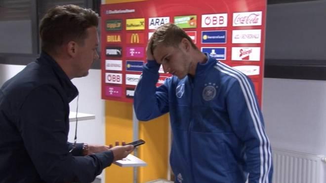 Timo Werner stand SPORT1-Chefreporter Florian Plettenberg Rede und Antwort