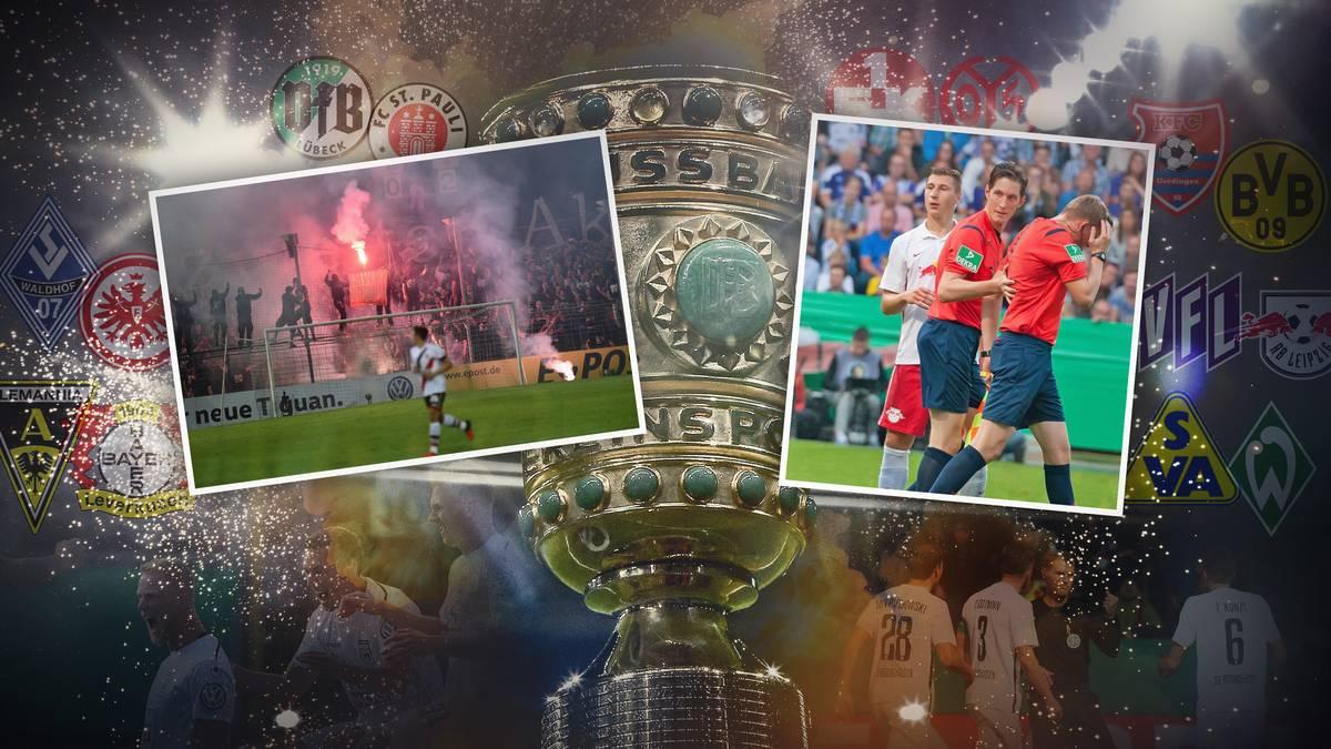 DFB-Pokal: Derbys und brisante Duelle in der 1. Runde