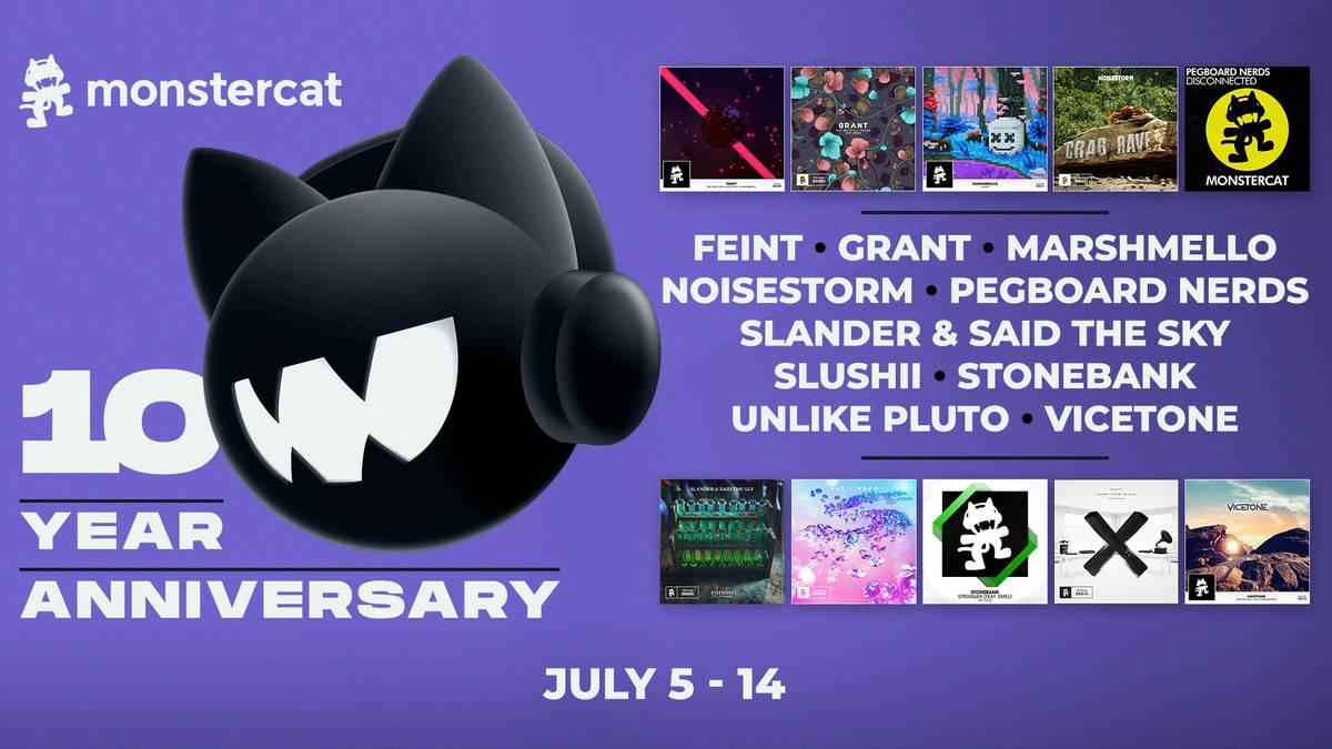 Rocket League feiert das 10-jährige Jubiläum mit Monstercat