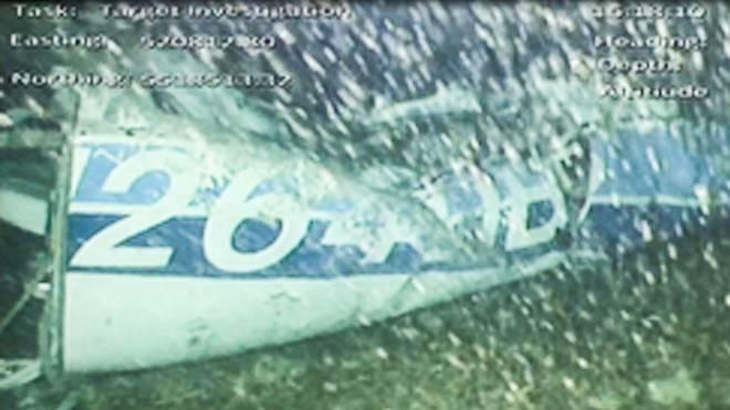 Das Wrack des Flugzeugs wurde am Grunde des Ärmelkanals entdeckt