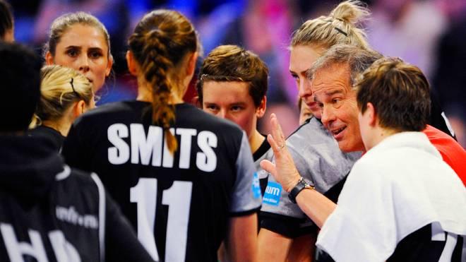 Die DHB-Frauen kämpfen gegen die Niederlande um den Einzug ins EM-Halbfinale