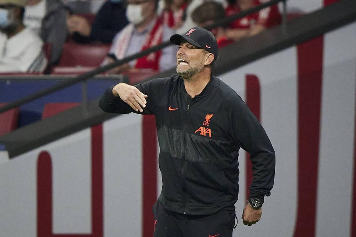 Jürgen Klopp wird nach Liverpools Sieg gegen Atlético immer wieder auf den verweigerten Handschlag von Diego Simeone angesprochen - das gefällt ihm überhaupt nicht.