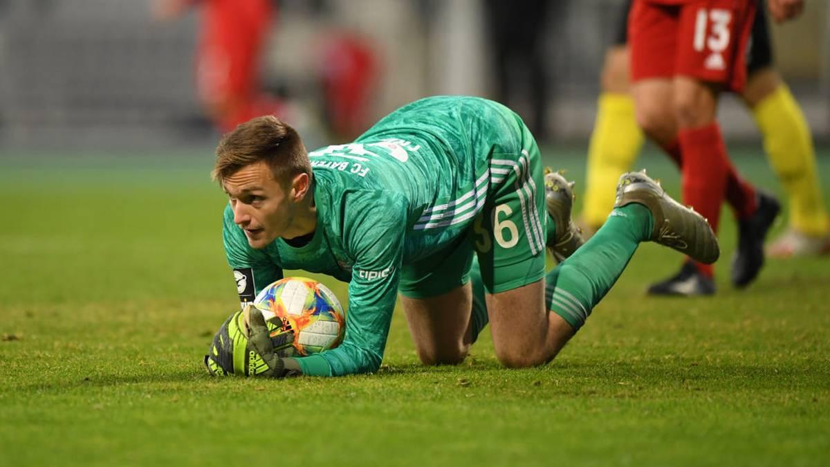 Christian Früchtl ist Bayerns Keeper in der 3. Liga