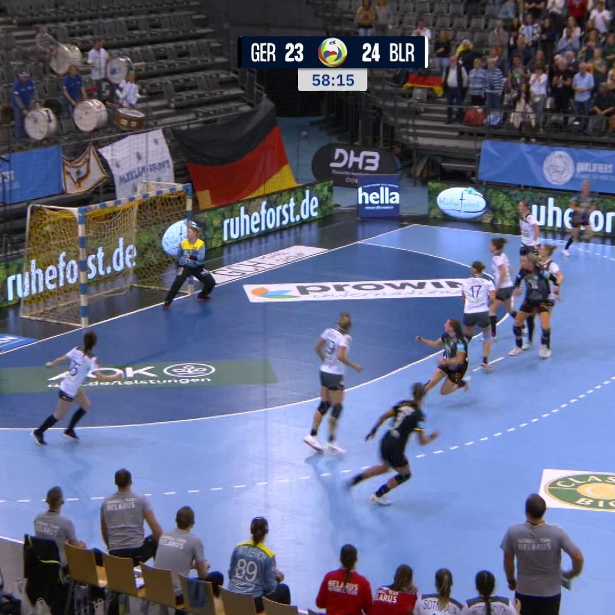 Rückschlag für DHB-Team! Remis gegen Belarus