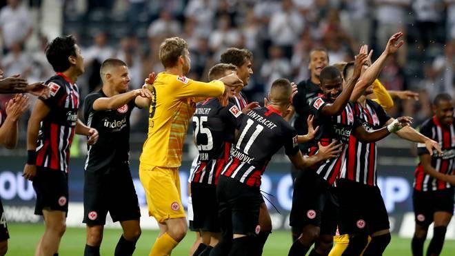 Eintracht Frankfurt peilt auch in dieser Saison den Einzug in die Gruppenphase an