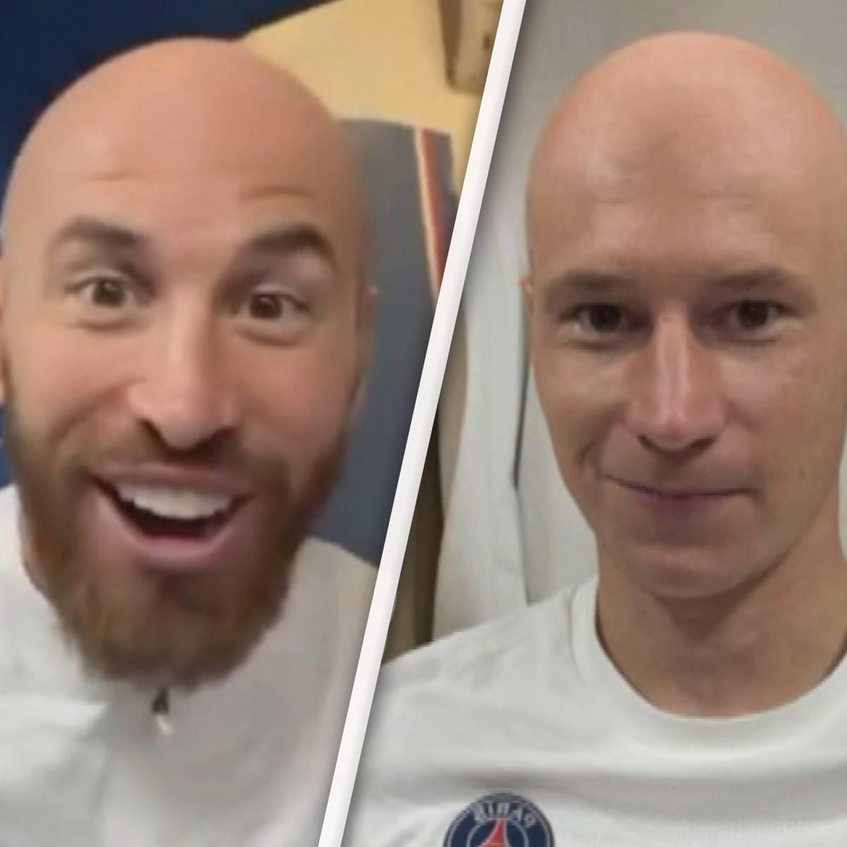 Glatzen für Ramos, Draxler und Co.: Kehrer lässt PSG-Kabine eskalieren