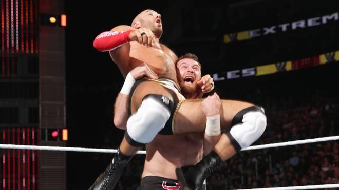 Sami Zayn WWE Wrestling Muslim Islam Donald Trump