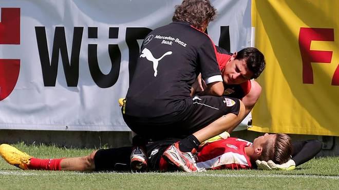 Mitch Langerak verletzt sich im Training