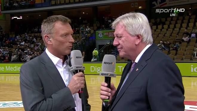 Peter Kohl im Gespräch mit Volker Bouffier