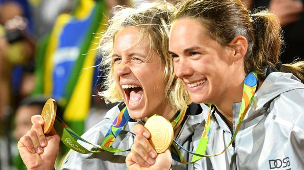 Beach Volleyball - Olympics: Day 12