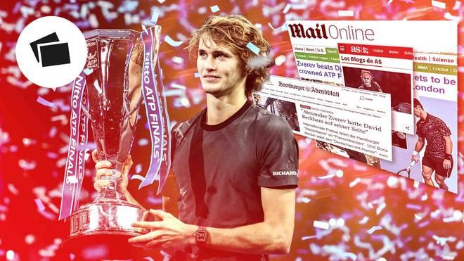 Alexander Zverev setzte sich bei den ATP Finals die Krone auf