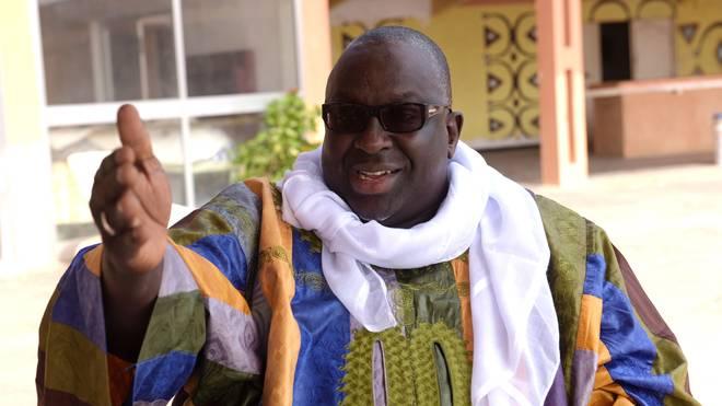 Lamine Diack ist der frühere Präsident des Leichtathletik-Verbandes IAAF