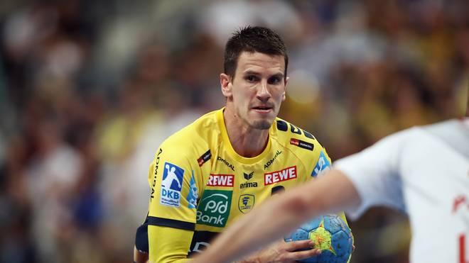 Andy Schmid erzielte acht Tore für die Rhein-Neckar Löwen