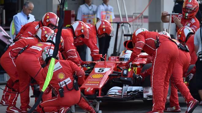 Formel 1: Der Ferrari von Sebastian Vettel funktionierte in Japan wieder einmal nicht wie gewünscht