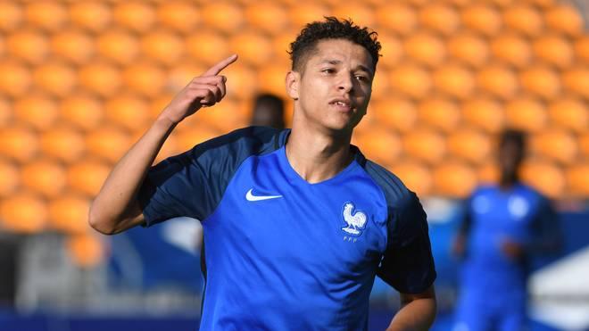 Amin Harit spielte in den Nachwuchsnationalteams von Frankreich
