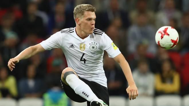 Matthias Ginter gewann mit Deutschland den Confed Cup