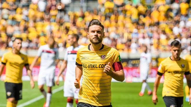 Niklas Kreuzer trifft mit Dynamo Dresden auf den Karlsruher SC