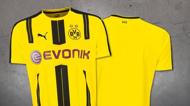 Das neue Heimtrikot von Borussia Dortmund für die Saison 2016/17
