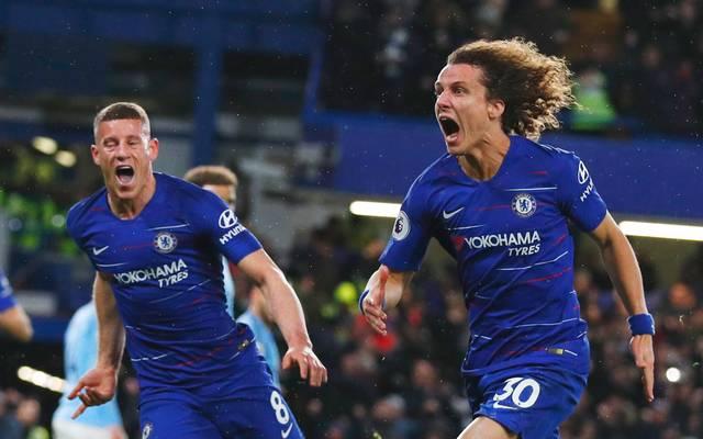David Luiz steht beim FC Chelsea vor dem Abschied