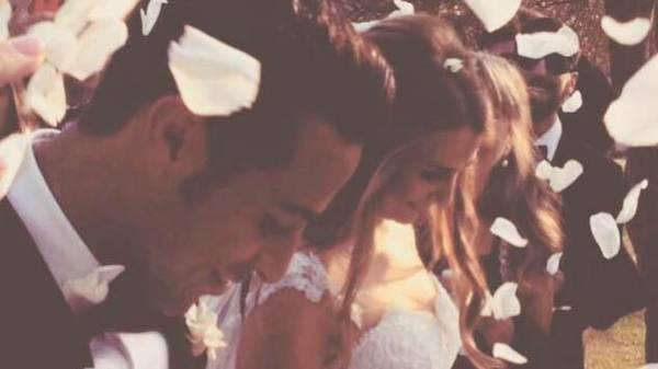 Thiago Alcantara heiratet Julia Vigas