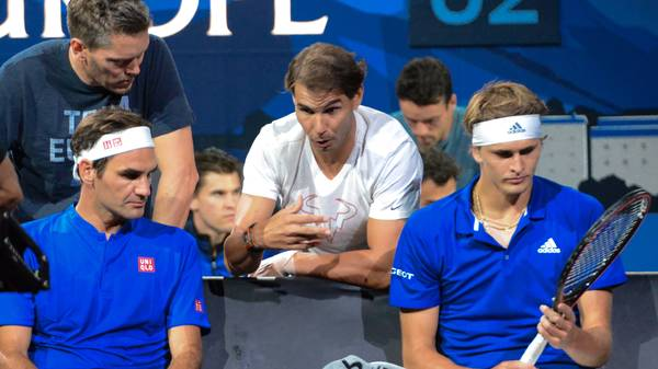 Rafael Nadal coacht Roger Federer und Alexander Zverev