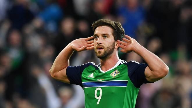 Will Grigg wird im WM-Qualifikations-Spiel der Nordiren gegen Deutschland fehlen