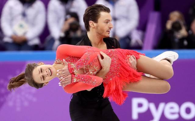 Kavita Lorenz und Joti Polizoakis belegten in ihrer Disziplin Rang acht