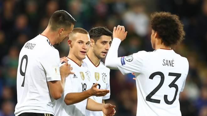 Die deutsche Nationalmannschaft will im zehnten Qualispiel den zehnten Sieg