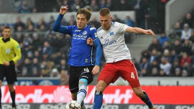 Arminia Bielefeld und der Hamburger SV duellieren sich im Zweitliga-Topspiel