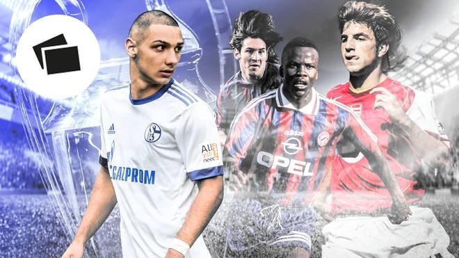 Ahmet Kutucu (l.) ist 18 Jahre alt. Die 20 jüngsten Torschützen der Champions League sind sogar noch jünger