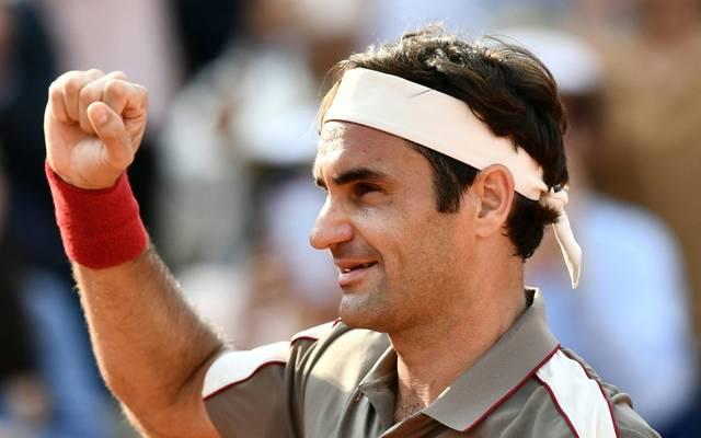 Roger Federer nimmt an French Open teil