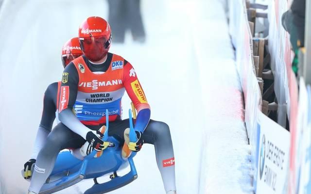 Toni Eggert und Sascha Benecken verpassen Medaillenplatz