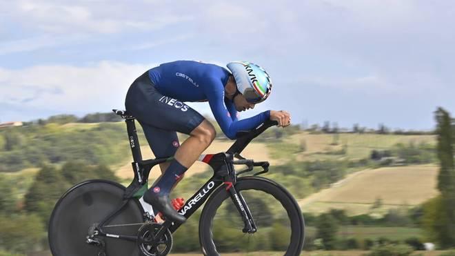 Filippo Ganna war in Imola der Schnellste