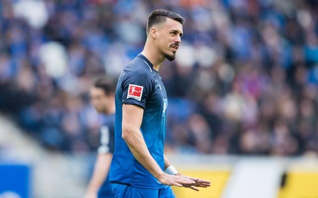 Sandro Wagner spielt seit der vergangenen Saison für die TSG Hoffenheim