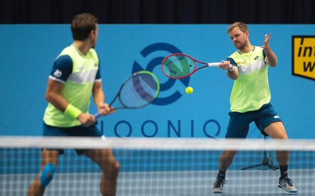 Kevin Krawietz und Andreas Mies stehen im Halbfinale von Wien
