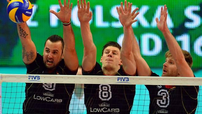 Die deutschen Volleyballer brauchen gegen Polen dringend einen Sieg