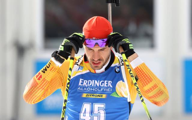 ANTHOLZ-ANTERSELVA, ITALY - FEBRUARY 19: Arnd Peiffer of Germany competes during the Men 20 km Individual Competition at the IBU World Championships Biathlon Antholz-Anterselva on February 19, 2020 in Antholz-Anterselva, Italy. (Photo by Alexander Hassenstein/Bongarts/Getty Images)