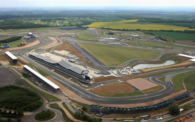 Silverstone präsentierte sich 2011 nach Umbauarbeiten in neuem Look