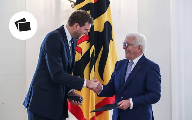 Dirk Nowitzki erhielt das Bundesverdienstkreuz