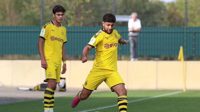 Reda Khadra (vorne) spielte in der U19 an der Seite von Giovanni Reyna (l.)