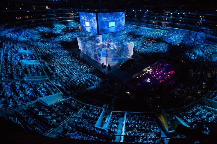 Die Worlds 2016 waren ein Highlight im eSports. Auch die Eröffnungsshow war ein Hingucker.