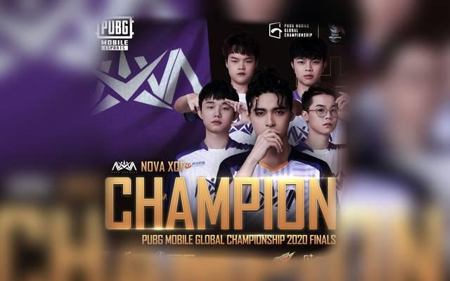 Nova Esports gewinnt PUBG MOBILE Global Championship 2020