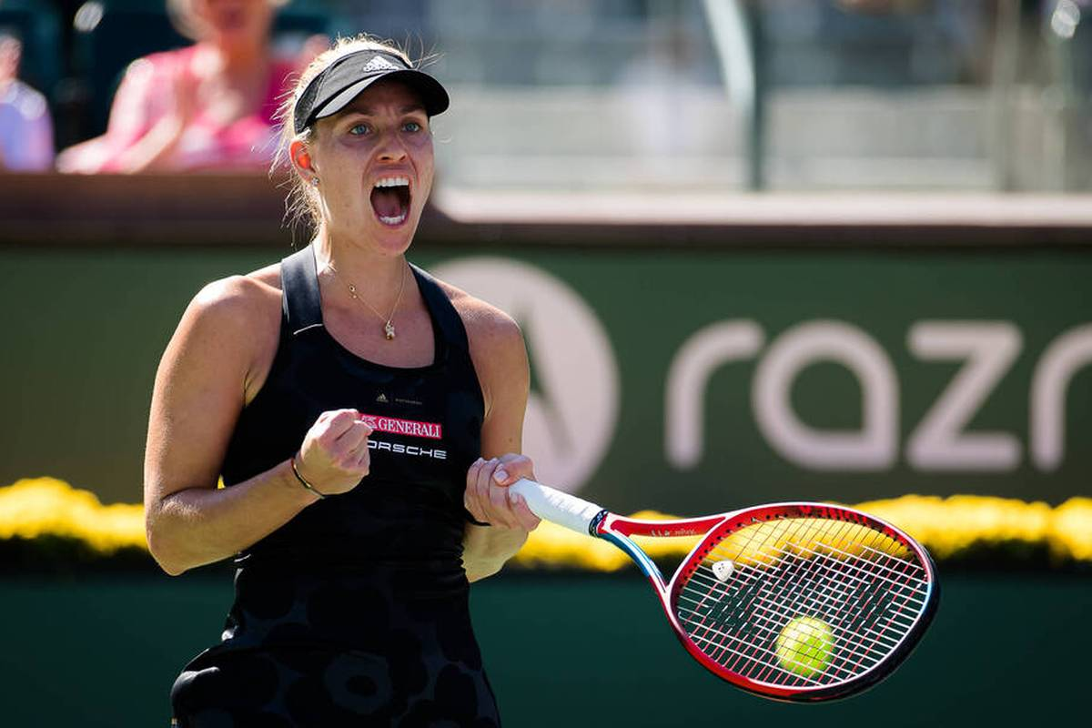 Angelique Kerber erreicht in Indian Wells das Viertelfinale, besiegt eine Australierin. Zu Beginn hakt das Spiel der Kielerin allerdings leicht.