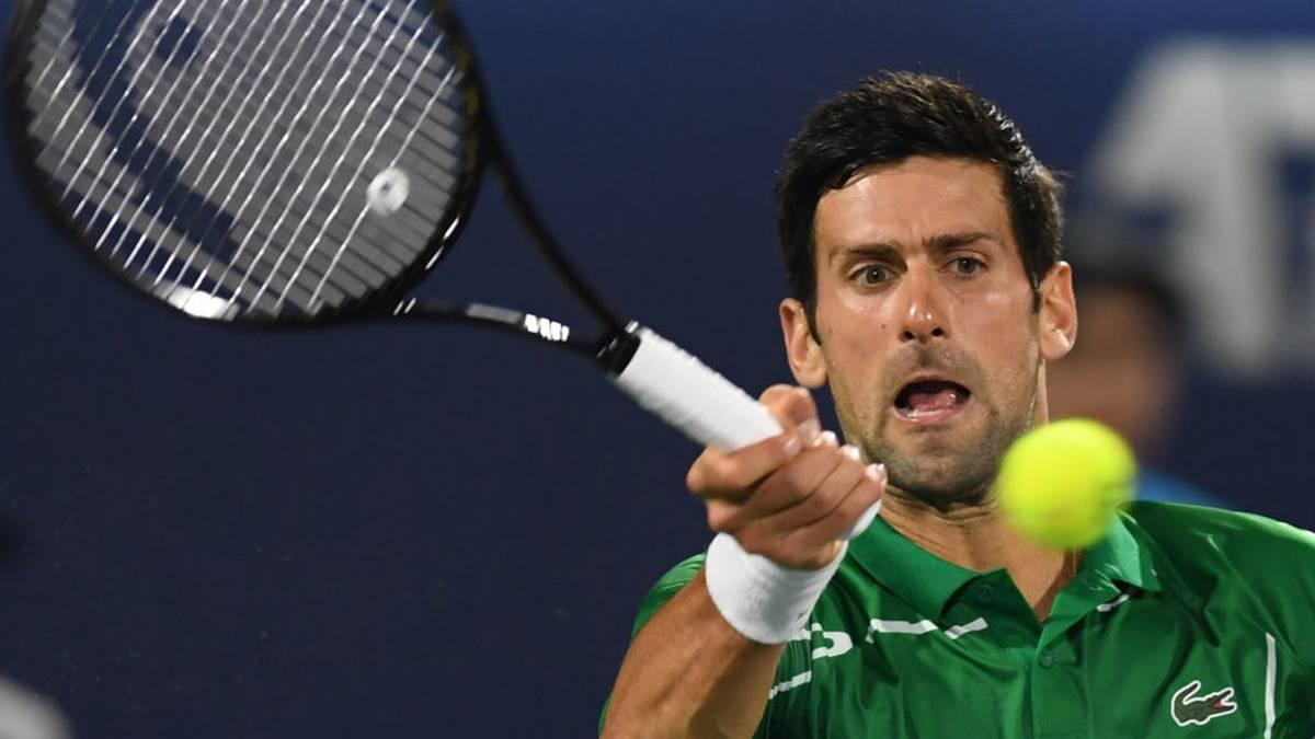 Novak Djokovic rechnet mit einer noch längeren Zwangspause für den Tenniszirkus