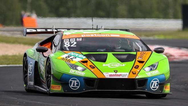 Grasser sichert sich für den zweiten Lauf des GT-Masters in Most die Pole